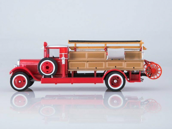 Macheta autospeciala pompieri PMZ-1 (ZIS 11) scara 1:43 6