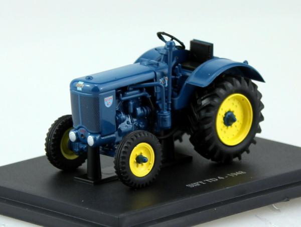 Macheta tractor Sift TD4 1948, scara 1:43 0