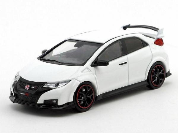 Macheta auto Honda Civic Type R, scara 1:64 0