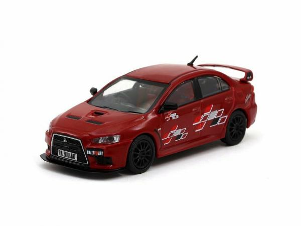 Macheta auto Mitsubishi Evo X, scara 1:64 0