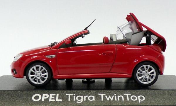 Macheta Opel Tigra Twintop, scara 1:43 2