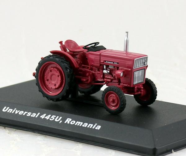 Macheta tractor Universal 445, Romania, scara 1:43 0