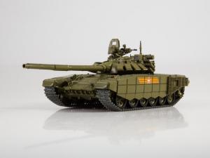 Macheta tanc rusesc T-72B3 2016, scara 1:430