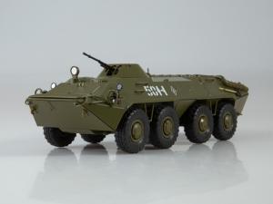 Macheta transportor blindat rusesc BTR-70, scara 1:430