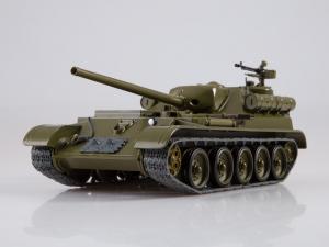 Macheta tanc rusesc SU-101, scara 1:430