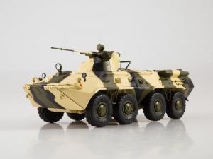 Macheta tanc rusesc BTR-80A, scara 1:430