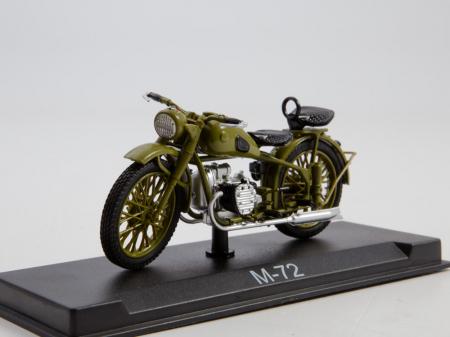 Macheta motocicleta ruseasca M-72, scara 1:24 [0]