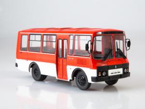 Macheta autobuz PAZ-3205, scara 1:430