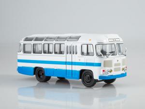 Macheta autobuz PAZ-672M, scara 1:430
