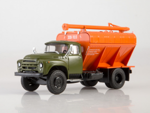 Macheta auto camion transport furaje Zil-130, scara 1:430