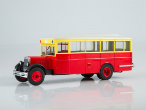 Macheta autobuz ZIS 8 cu revista, scara 1:432