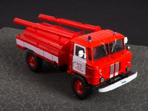 Macheta autospeciala pompieri AC-30 (GAZ 66) scara 1:4317