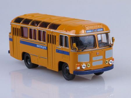 Macheta autobuz PAZ-672M Militia, scara 1:43 [0]