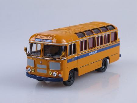 Macheta autobuz PAZ-672M Militia, scara 1:43 [4]