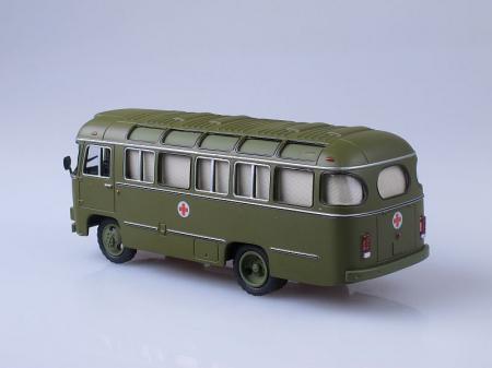 Macheta autobuz PAZ-672M ambulanta militara, scara 1:43 [1]