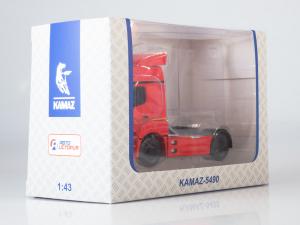 Macheta cap tractor Kamaz 5490, scara 1:437
