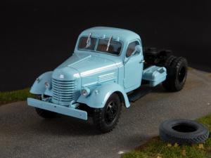 Macheta auto camion cap tractor Zis-MMZ-120N, scara 1:435