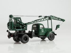 Macheta automacara LAZ 690  pe sasiu ZIS-150, scara 1:432