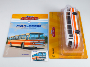 Macheta autobuz LAZ-699R, scara 1:43 [7]