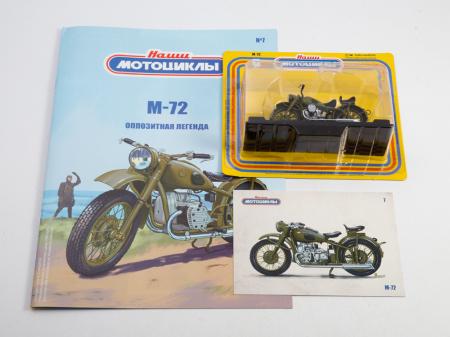 Macheta motocicleta ruseasca M-72, scara 1:24 [8]