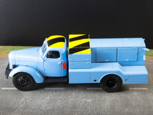 Macheta auto camion demaror avioane APA-35-2 (Zil 164), scara 1:436