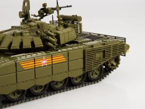 Macheta tanc rusesc T-72B3 2016, scara 1:436