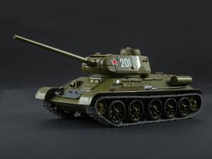 Macheta tanc rusesc T-34-85, scara 1:430