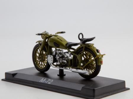 Macheta motocicleta ruseasca M-72, scara 1:24 [1]