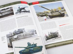 Macheta tanc rusesc T-72B3 2016, scara 1:437