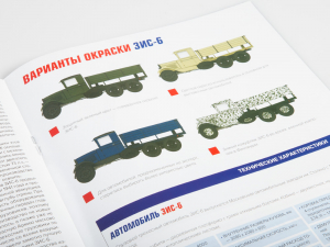 Macheta auto camion Zis-6, scara 1:439