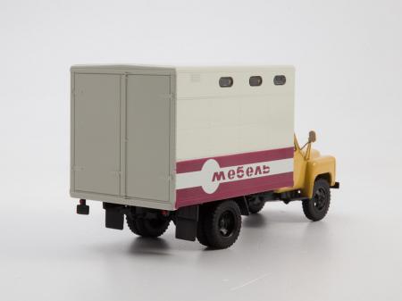 Macheta camion Gaz 52 duba de mobila, scara 1:43 [1]
