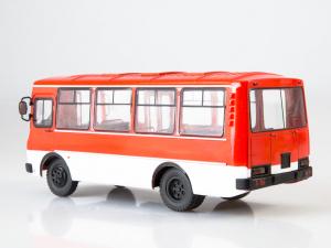 Macheta autobuz PAZ-3205, scara 1:432