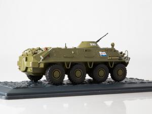 Macheta transportor blindat rusesc BTR-60PB, scara 1:43 [1]