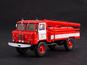 Macheta autospeciala pompieri AC-30 (GAZ 66) scara 1:4311