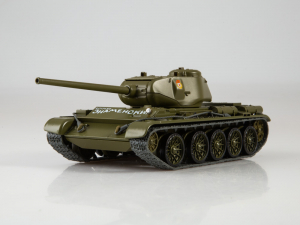 Macheta tanc rusesc T-44, scara 1:431