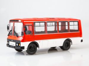 Macheta autobuz PAZ-3205, scara 1:433