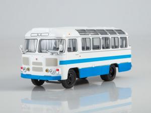 Macheta autobuz PAZ-672M, scara 1:432