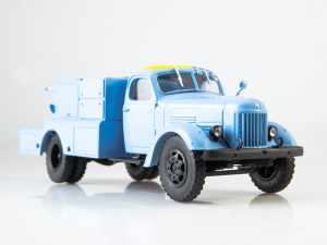 Macheta auto camion demaror avioane APA-35-2 (Zil 164), scara 1:431