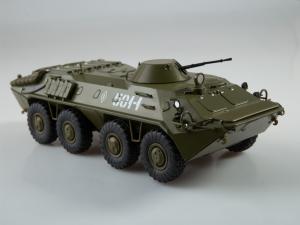 Macheta transportor blindat rusesc BTR-70, scara 1:434