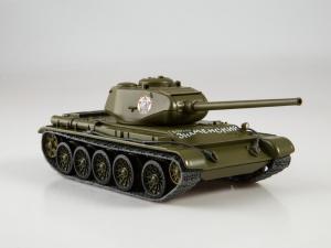 Macheta tanc rusesc T-44, scara 1:432