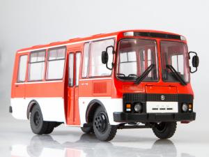 Macheta autobuz PAZ-3205, scara 1:434