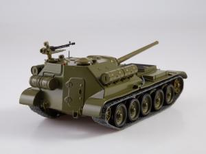Macheta tanc rusesc SU-101, scara 1:432