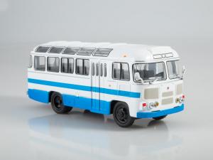 Macheta autobuz PAZ-672M, scara 1:434