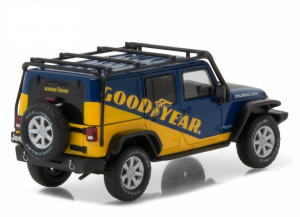 Macheta auto Jeep Wrangler Unlimited Rubicon 2016, scara 1:431
