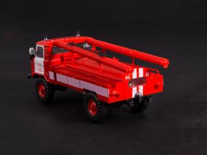 Macheta autospeciala pompieri AC-30 (GAZ 66) scara 1:434
