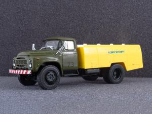 Macheta auto cisterna pentru avioane AC-161 (Zil 130), scara 1:436