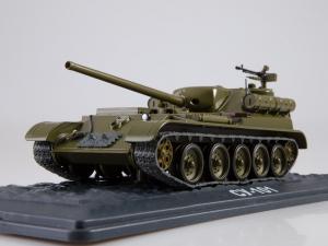 Macheta tanc rusesc SU-101, scara 1:433
