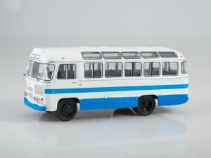 Macheta autobuz PAZ-672M, scara 1:435