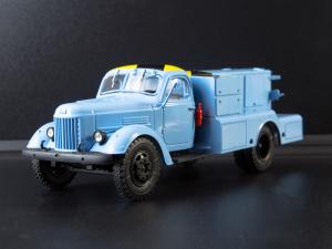 Macheta auto camion demaror avioane APA-35-2 (Zil 164), scara 1:434