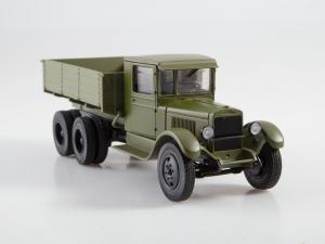 Macheta auto camion Zis-6, scara 1:435